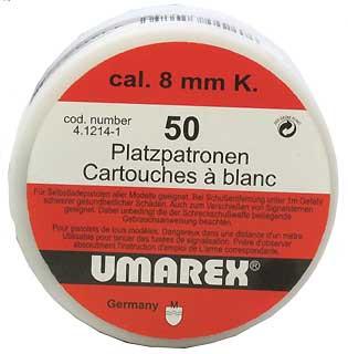 UMAREX UMAREX225-2754 BLANK 8MM K (PER 50)