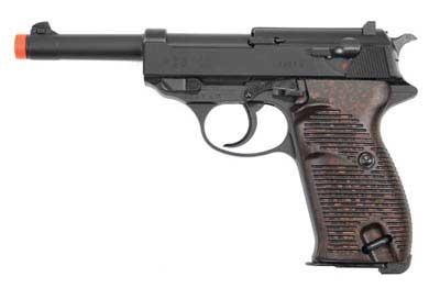UMAREX UMAREX226-5001 WALTHER P38 GAS BB - BLACK