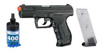 UMAREX UMAREX227-2005 WALTHER P99 SOFT AIR BLACK