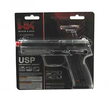 UMAREX UMAREX227-3001 H&K USP - CLEAR .6MM BB