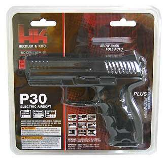 UMAREX UMAREX227-3010 H&K P30 - BLACK .6MM BB