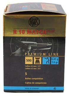 UMAREX UMAREX231-5010 RWS R10 MATCH+ LT (PER 500) .177