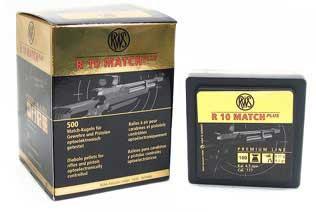 UMAREX UMAREX231-5012 RWS R10 MATCH+ HVY (PER 500) .177