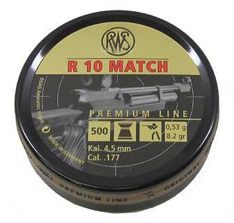 UMAREX UMAREX231-5014 R10 MATCH HVY 177 8.2GR (PER 500)