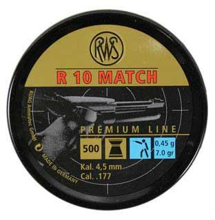 UMAREX UMAREX231-5018 R10 MATCH LT .177 7.0GR (PER 500)