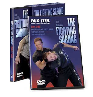 COLD STEEL VDFS TRAINING DVD: FIGHTING SARONG