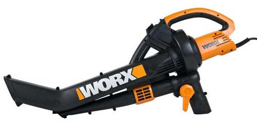 WORX WG500 ALL-IN-ONE BLOWER, VAC and MULCHER
