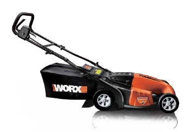 WORX WG718 19-INCH ELECTRIC LAWN MOWER