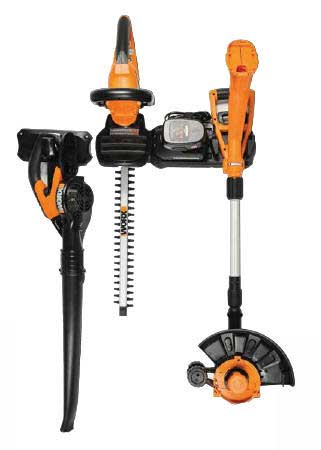 WORX WG901.1 18V NI-CD CORDLESS 3 PIECE OUTDOOR COMBO KIT