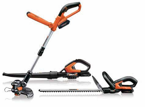 WORX WG913.5 18V LI-ION 3-PIECE OUTDOOR COMBO KIT