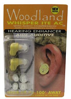 WOODLAND WHISPER WW ITEAC WOODLAND WHISPER IN-THE-EAR 2PK