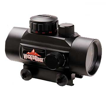 WICKED RIDGE WRA080 40MM MULTI-DOT SCOPE -RD/GRN