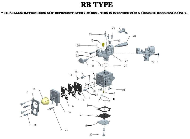 zama rb k75 carburetor parts diagram sn all rh lawnmowerpros com zama carburetor parts diagram zama carburetor diagram c1u